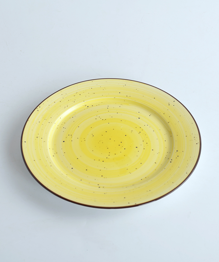 round porcelain plate