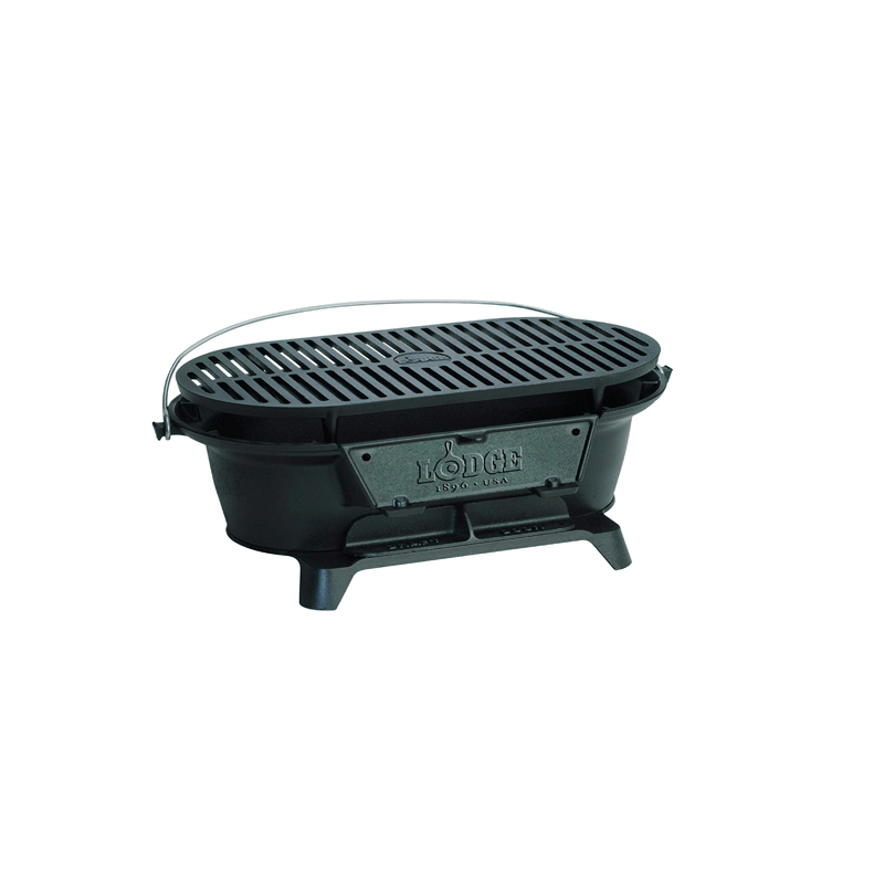 LODGE Cast iron sportsman's grill / L410