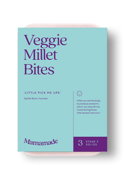 Mamamade Veggie Millet Bites Finger Food For Babies and Toddlers