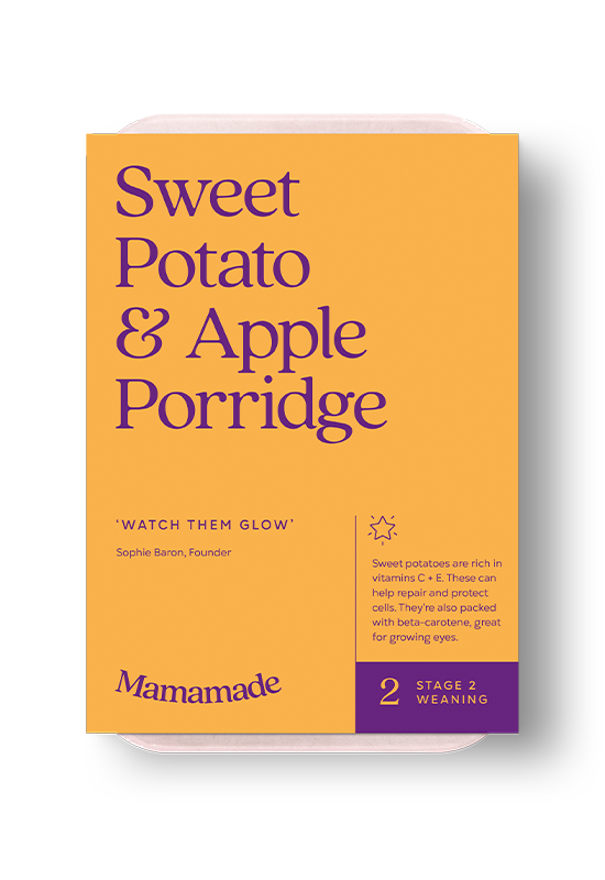 Mamamade Sweet Potato & Apple Porridge For Babies and Toddlers