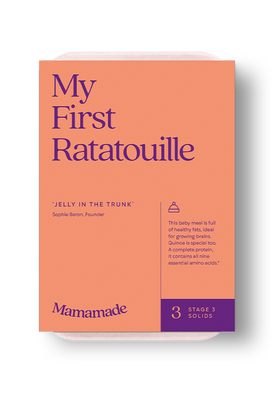 Mamamade First Ratatouille Frozen Meal For Babies and Toddlers