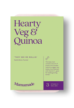 Mamamade Hearty Veg & Quinoa Frozen Meal For Babies and Toddlers