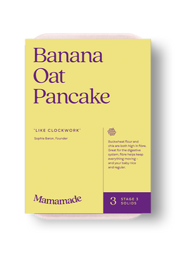 Mamamade Banana Oat Pancakes Organic Finger Food For Babies and Toddlers