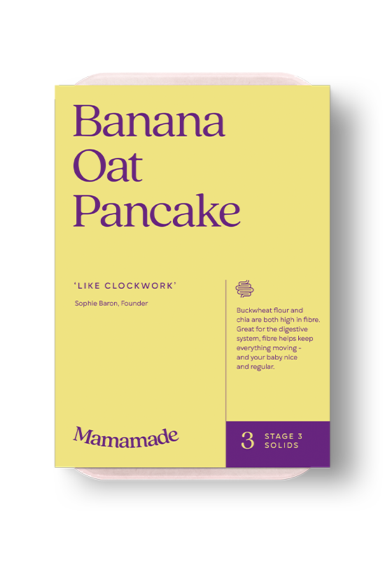 Mamamade Banana Oat Pancakes Organic Finger Food For Babies