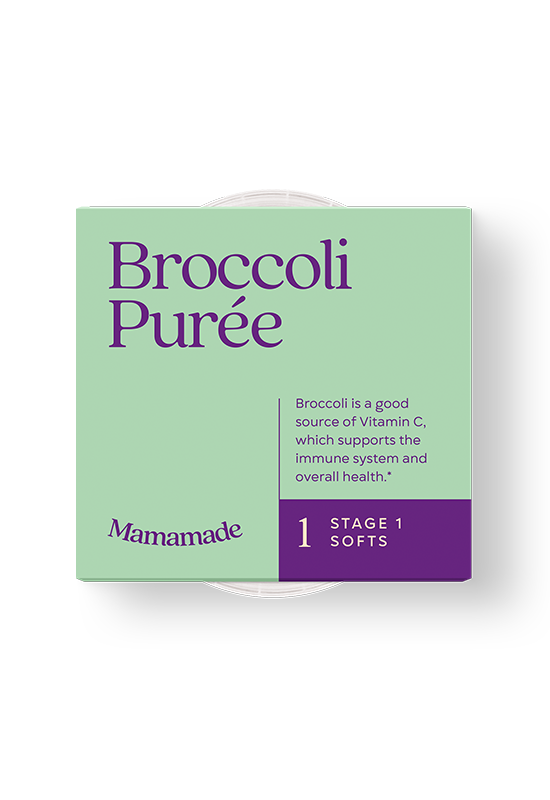 Mamamade Organic Broccoli Puree for Babies