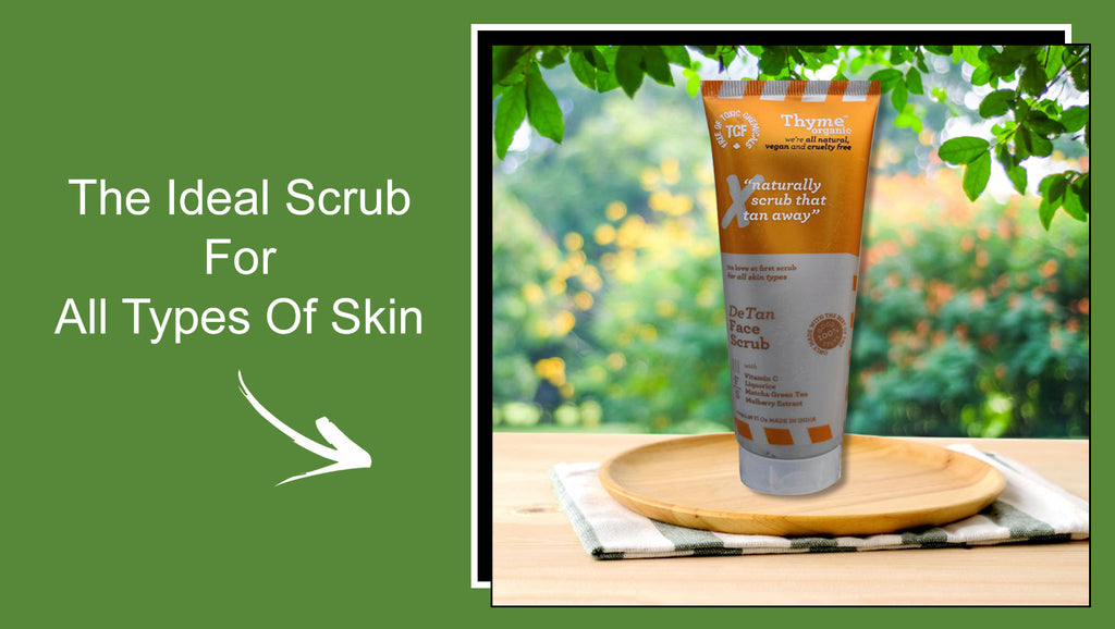 The Detan Face Scrub