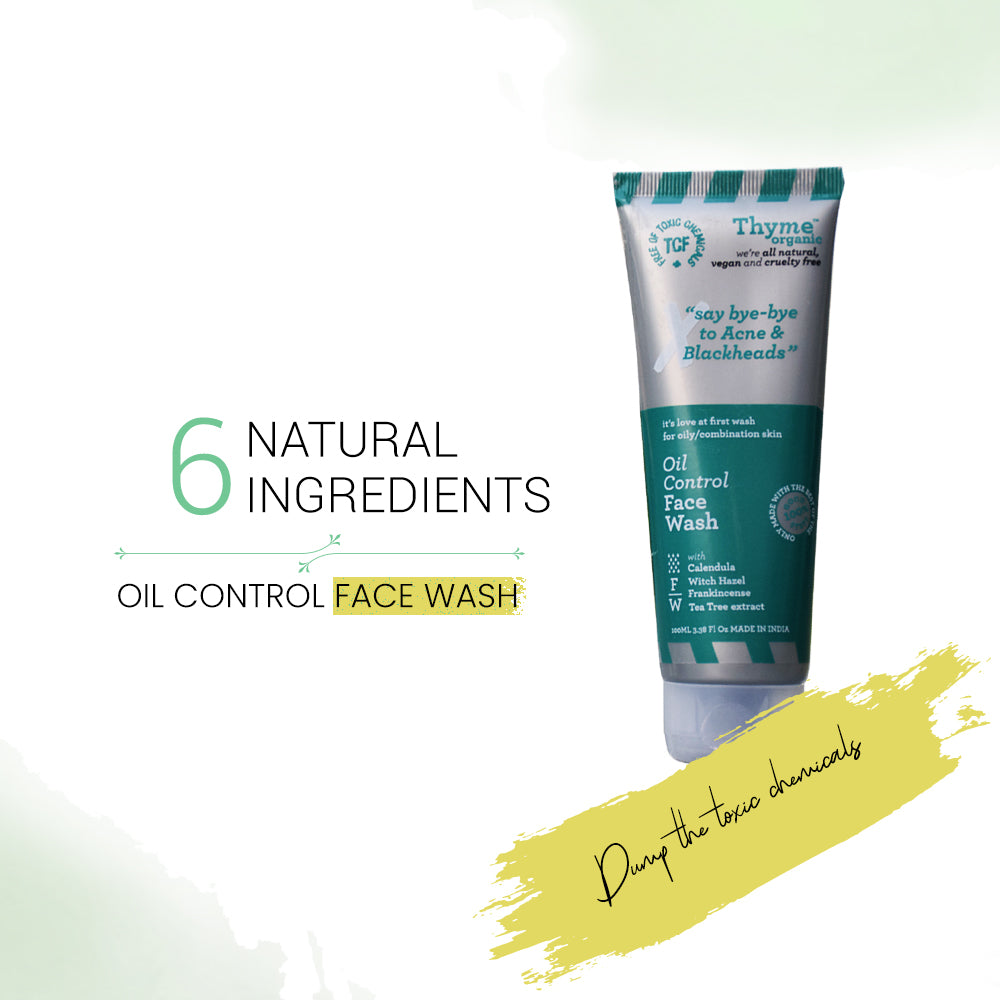 Oil Control Face Wash (100 ml)