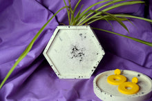 Load image into Gallery viewer, Granite Trinket Dish, Hexagon - Sophie Filomena