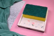 Load image into Gallery viewer, Polymer Terrazzo Trinket Dish, Square - Sophie Filomena