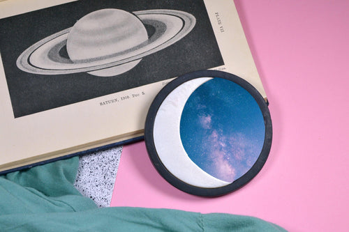Moon and Sun Pocket Mirror - Sophie Filomena