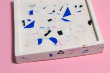 Load image into Gallery viewer, Polymer Pieces Terrazzo Trinket Dish, Sqaure - Sophie Filomena