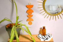 Load image into Gallery viewer, Boho Desert Shapes Wall Hanging, Terracotta - Sophie Filomena
