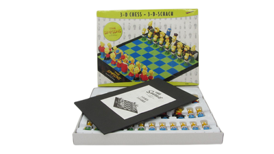 3D-Schach - The Simpsons