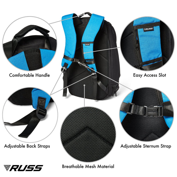 RUSS PRO- All in One Backpack - RUSSMERICA
