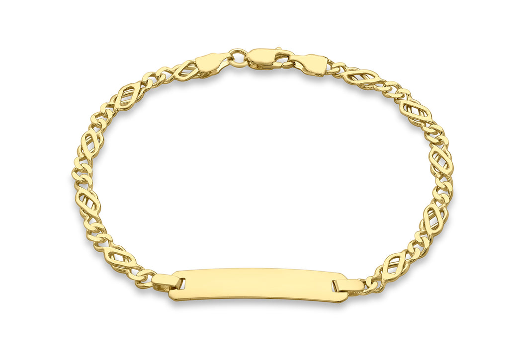 9 Ct. Yellow Gold Celtic Bracelet