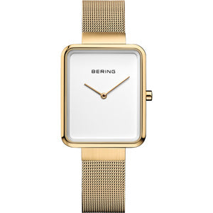 Bering Watch. Classic Polished Brushed Gold