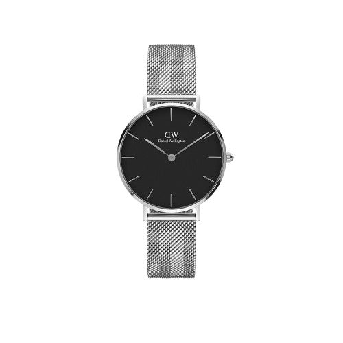 Daniel Wellington Petite Sterling Black 32mm Watch