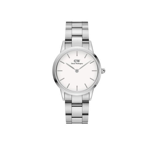 Daniel Wellington Iconic Link Silver White Watch