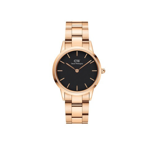 Daniel Wellington Iconic Link RG Black Watch