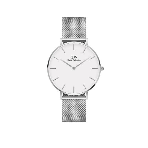 Daniel Wellington Petite Sterling White 36mm Watch