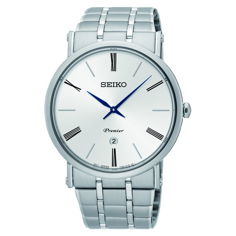 Seiko Gents Stainless Steel Premier Watch