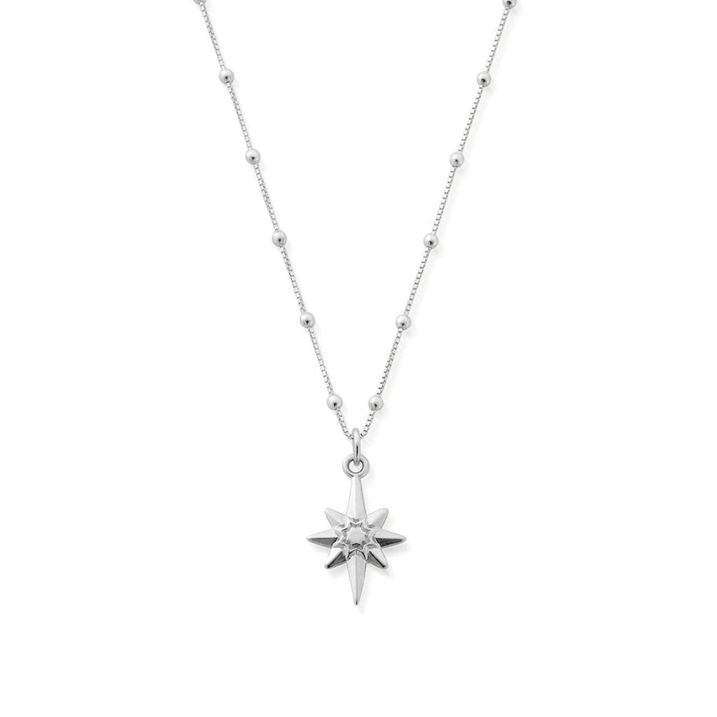 Bobble Chain Lucky Star Necklace