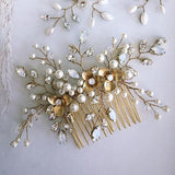 Maggie Pearl and Crystal Haircomb