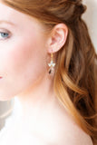 Catherine Swarovski Crystal Bridal Earrings
