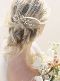 Kaylan Crystal and Pearl Hairpins