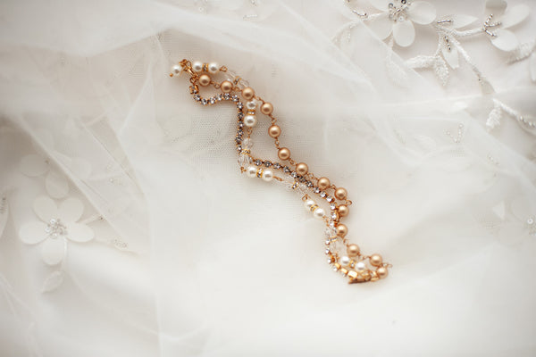 Daniela Gold Wedding Bracelet