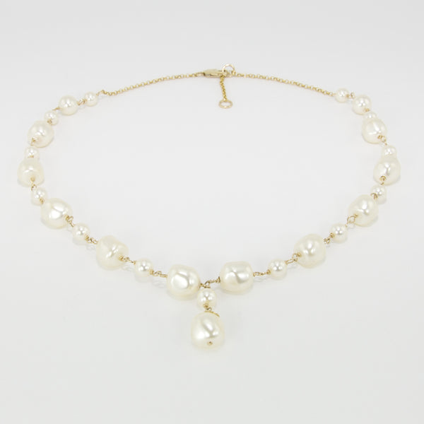 Maggie Baroque Pearl Necklace