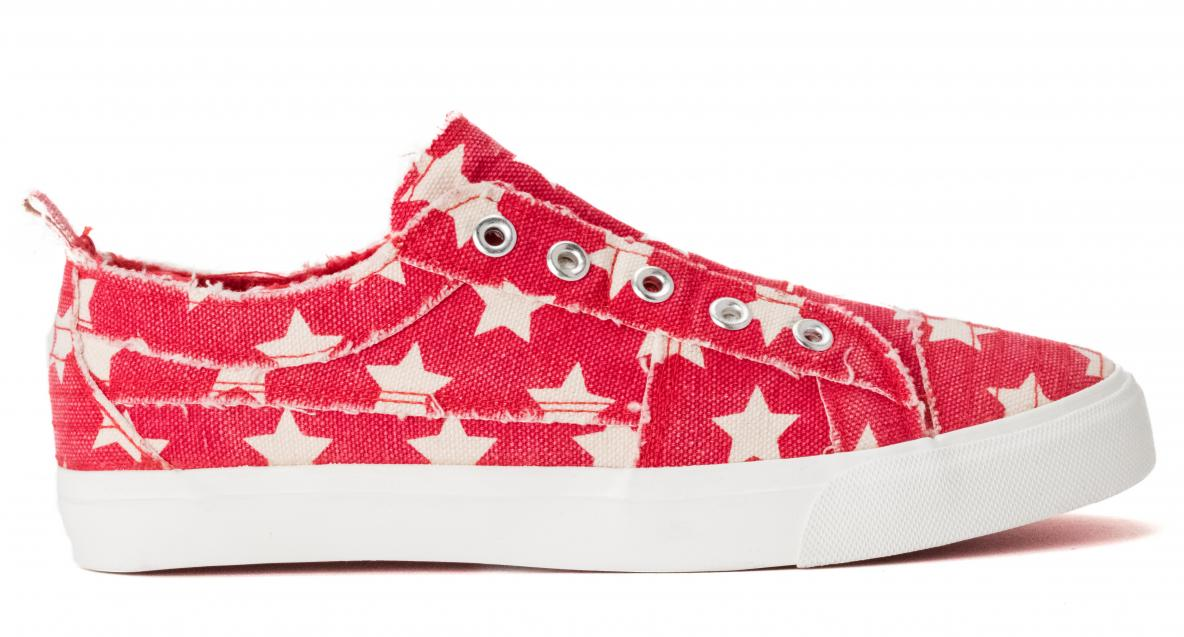Corkys Shoes - Babalu Red Stars Sneaker