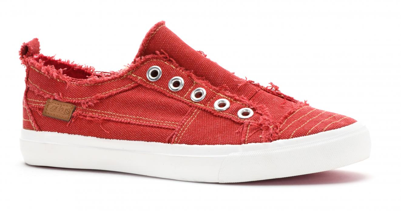 Corkys Shoes - Babalu Red Sneaker