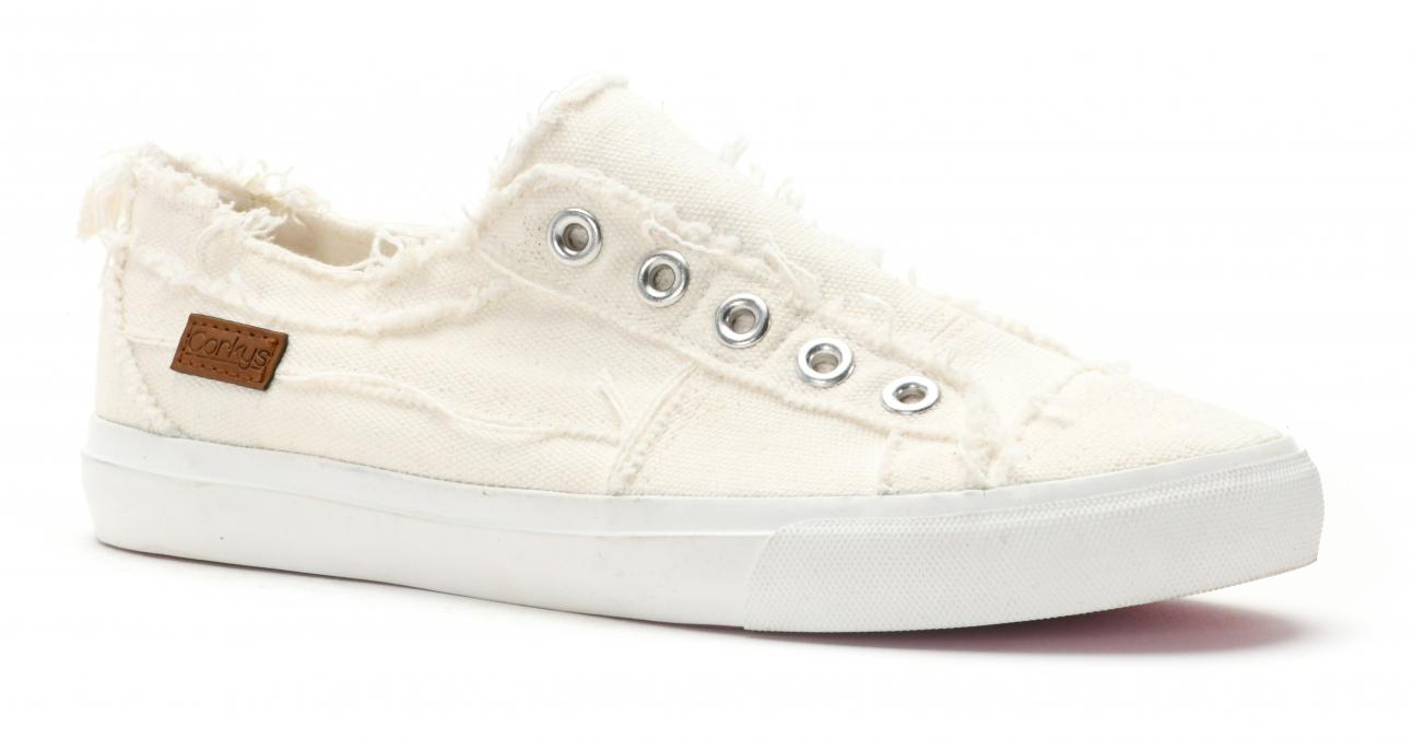 Corkys Shoes - Babalu White Sneaker