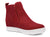 Corkys Shoes - Hunt Red Suede Wedge