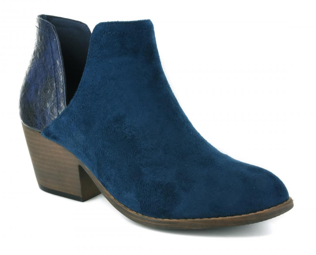 Corkys Shoes - Kippi Navy Bootie