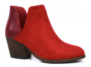 Corkys Shoes - Kippi Red Bootie