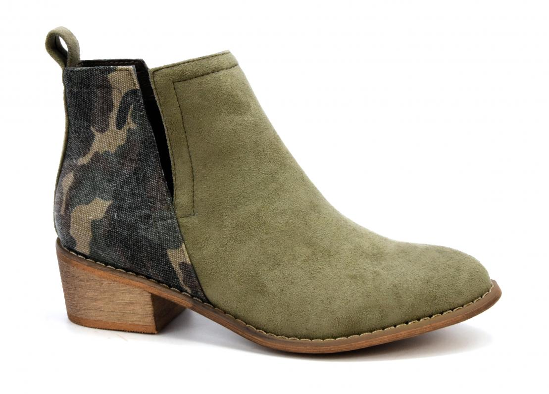 Corkys Shoes - Shield Camo Bootie