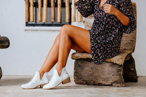 Corkys Shoes - Wayland White Booties