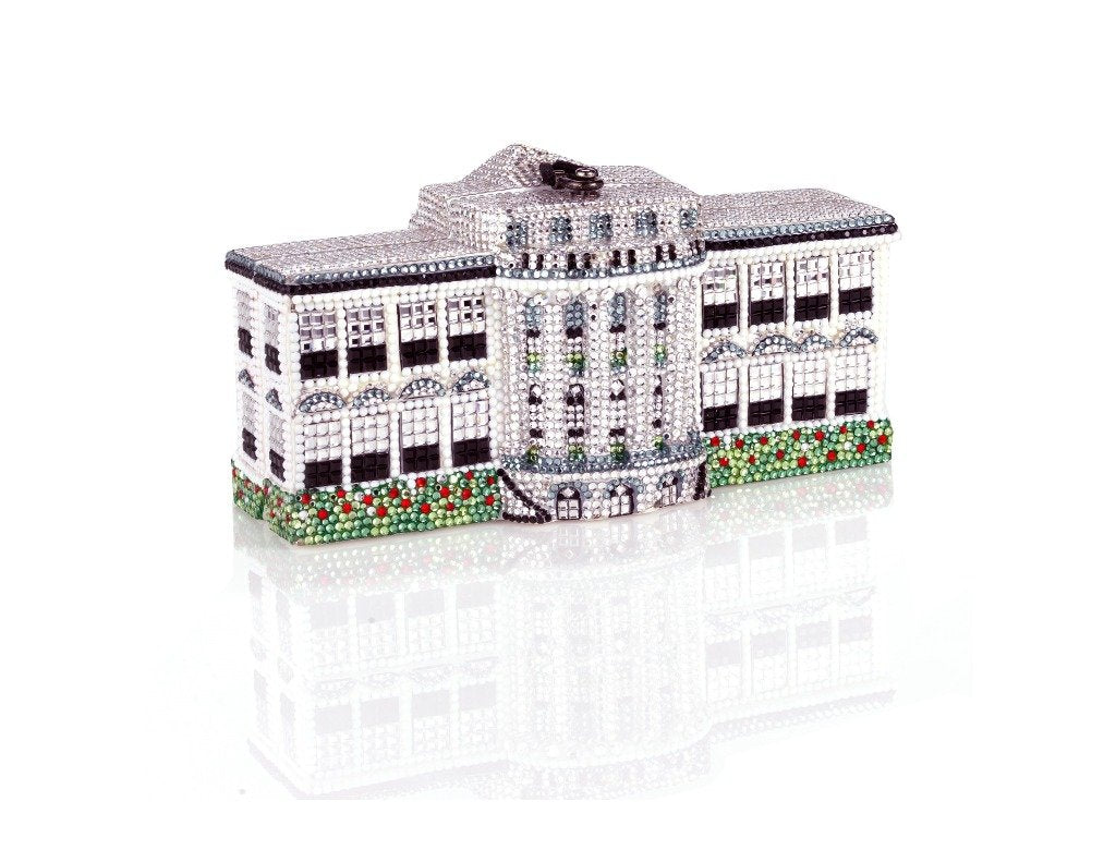 Timmy Woods WHITE HOUSE with Swarovski Crystals