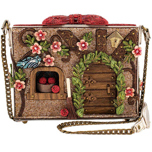 Mary Frances/Disney Charmed Cottage Beaded Crossbody Handbag