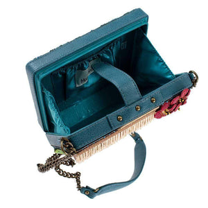 Mary Frances Tiki Bar Beaded Crossbody Handbag