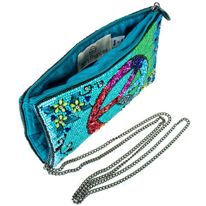 Mary Frances Inner Peace Beaded Crossbody Phone Bag