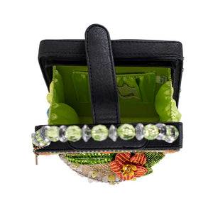 Mary Frances Lime on  the Side Top Handle Margarita Bag