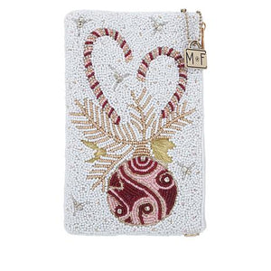 Mary Frances - Sweet Wishes Beaded Crossbody Phone Bag