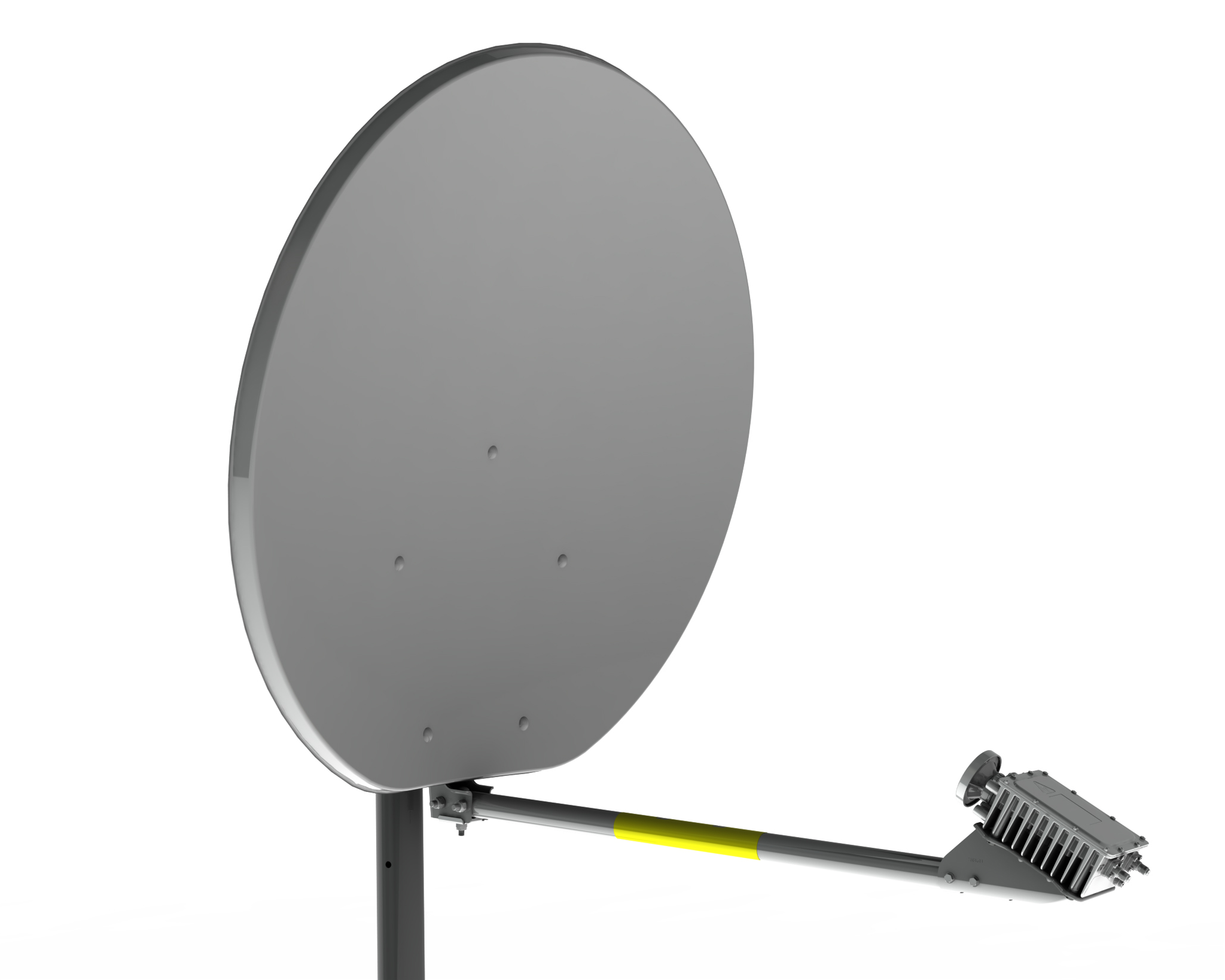 90 VSAT antenna with XRF