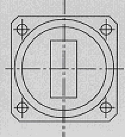 SQUARE SEAL GROOVE