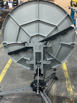 98cm antenna rear view