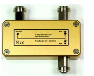 L Band 2-Way Passive Combiner/Splitter
