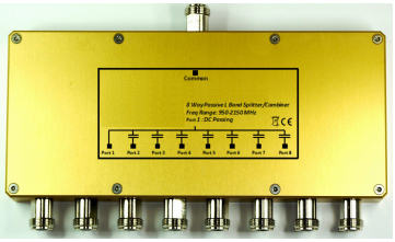 L-Band 8-Way Passive Combiner_Splitter